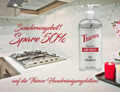 50% Rabatt auf Thieves Handreinigungslotion 225 ml