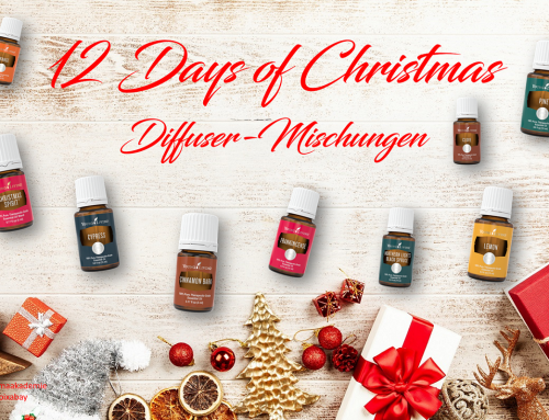 12 Days of Christmas – Diffuser Mischungen