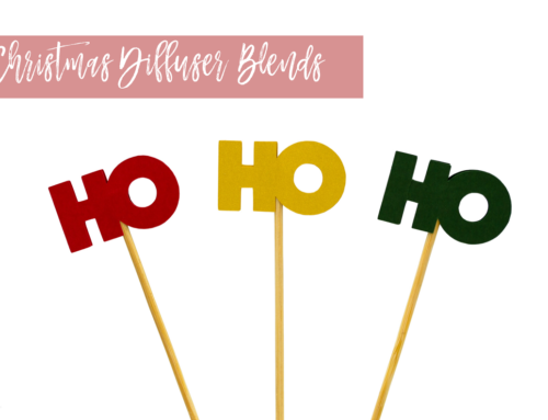 DIY: Christmas Diffuser Blends